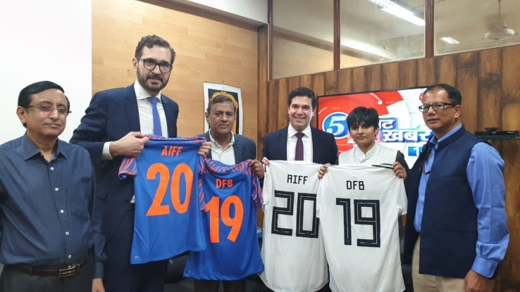 AIFF signs MOU with German Football  Association (DFB)
