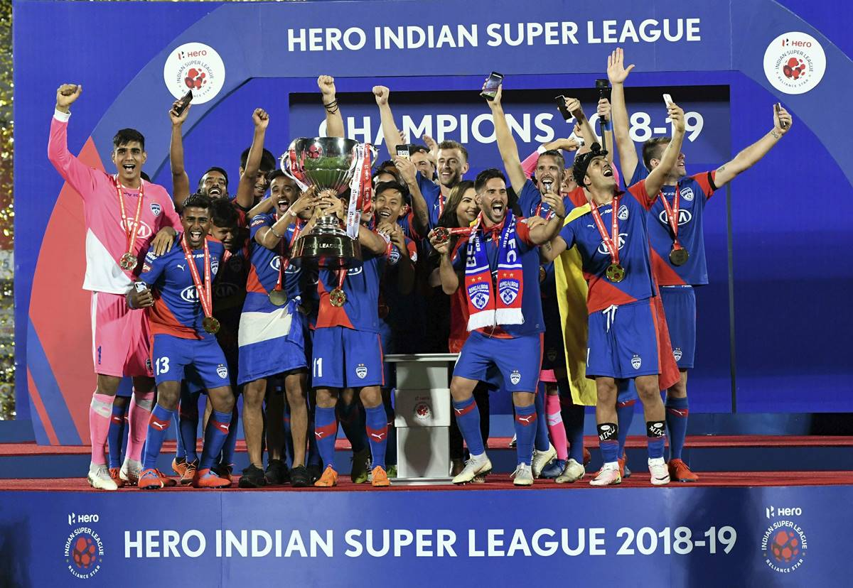Bengaluru FC clinched their maiden Indian Super League titl