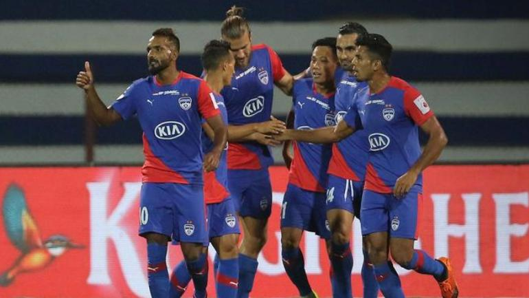 Bengaluru FC saw their winning run in the Indian Super League extend