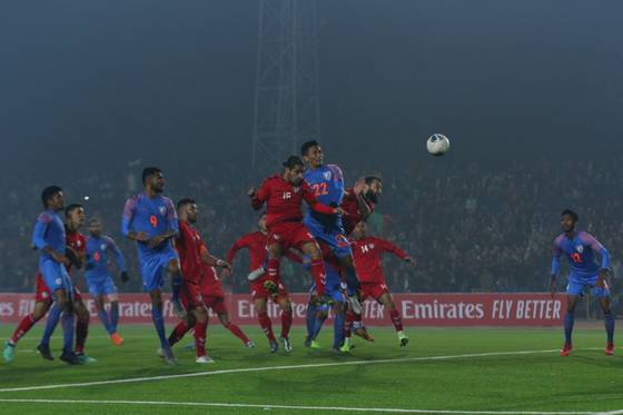 FIFA World Cup Qualifiers,  India drew 1-1 against Afghanistan