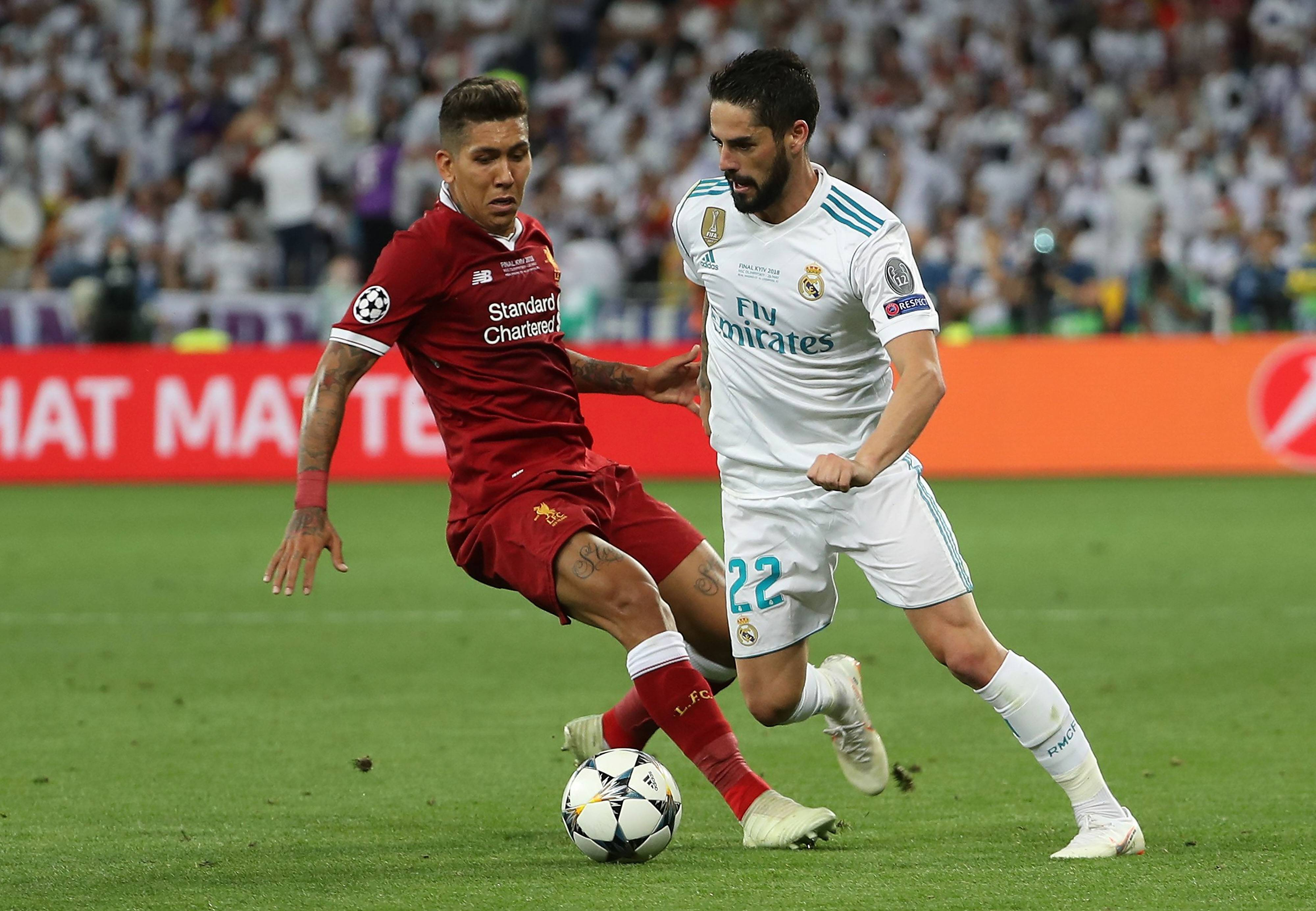 Giant Real Madrid dominates giant Liverpool