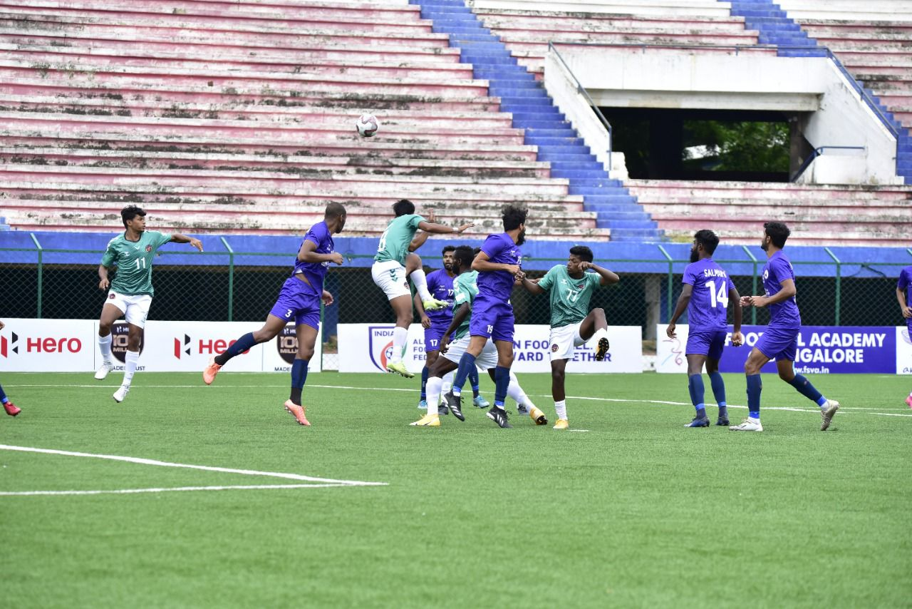 """Hero-I-League Qualifiers 2021 at Bangalore Football Stadium in """"Bubble"""" system"""