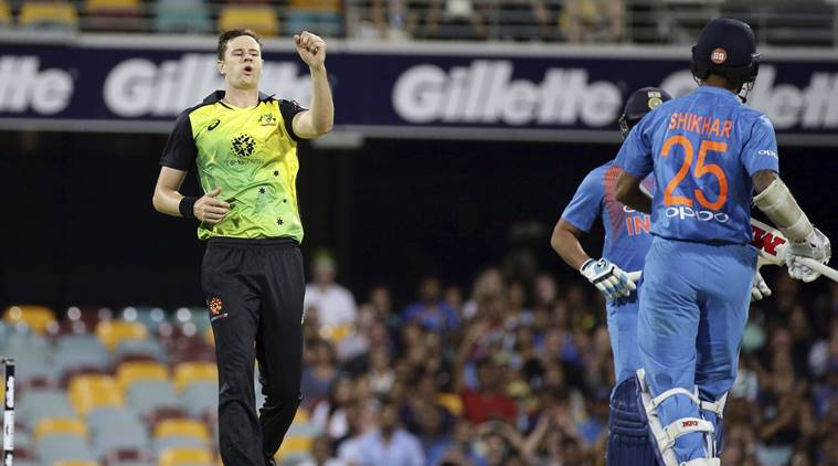 India loss first T20 against Australia
