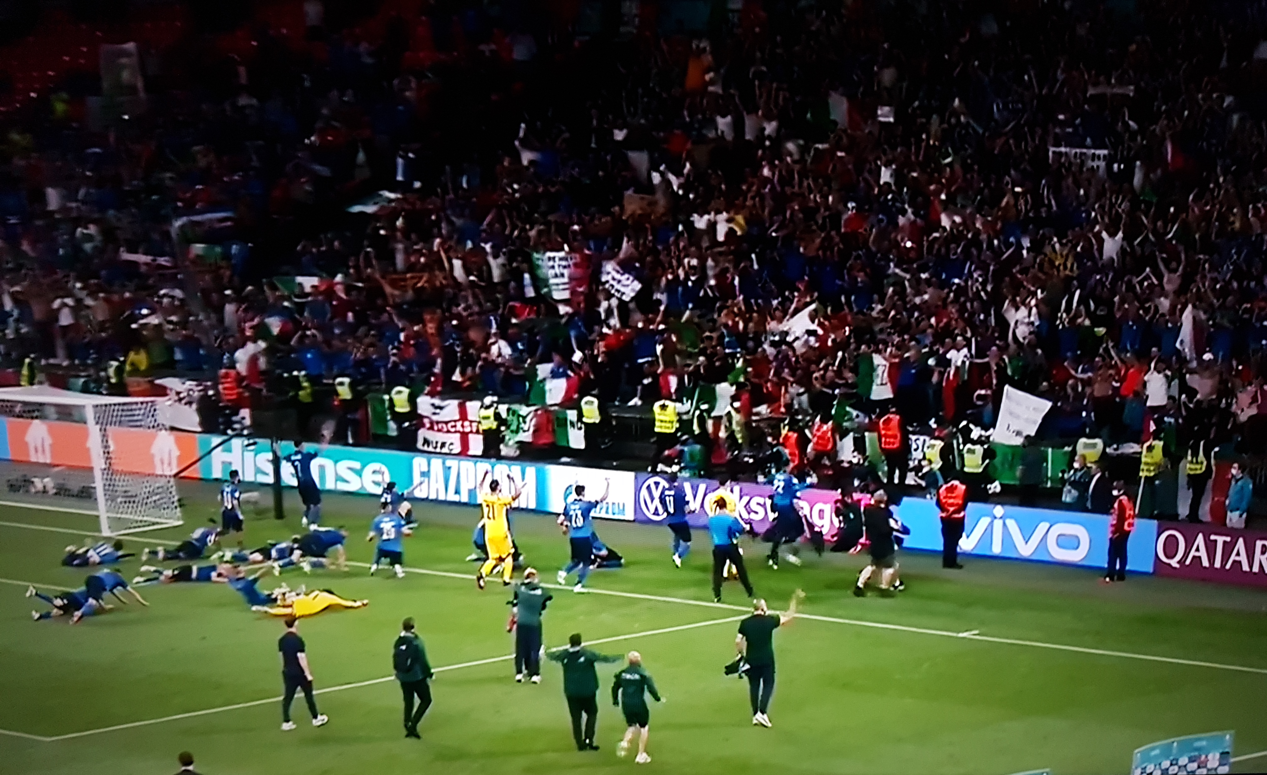 Italia wins European Championships in a penalty thriller against England