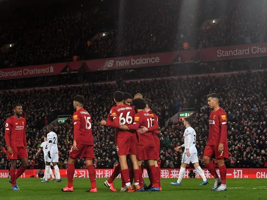Liverpool Sink West Ham For Record Equaling 18th Successive Win