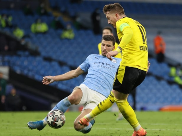 UEFA Champions League: ManCity with a last minute victory over Borussia